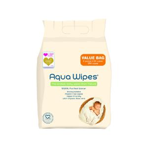 Aqua Wipes Detské vlhčené obrúsky 4x64ks