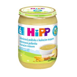 HiPP Polievka BIO Zeleninová s kuracím mäsom 1x190 g