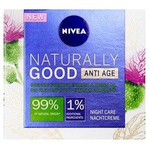 NIVEA NATURALLY GOOD Anti Age Nočný krém proti vráskam 50ml