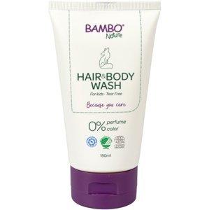 Bambo Nature Umývací gél na vlasy a telo 150ml neparfumovaný