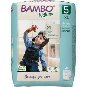Bambo Nature Pants 5 Plienkové nohavičky 19 ks pre 12-18kg