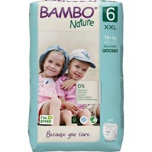 Bambo Nature Pants 6 Plienkové nohavičky 18ks pre 18+kg