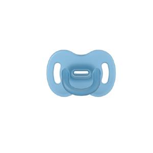Suavinex Celosilikonový cumlík SX PRO fyziologický 0–6m modrá 1ks