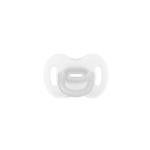 Suavinex Celosilikonový cumlík SX PRO fyziologický 0–6m průhledná 1ks