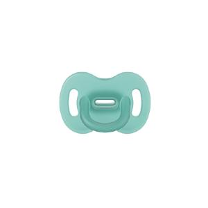 Suavinex Celosilikonový cumlík SX PRO fyziologický 0–6m zelená 1ks