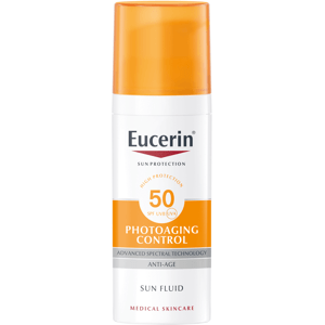 EUCERIN SUN Emulzia na opaľovanie na tvár SPF 50 proti vráskam 50ml