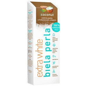 Biela perla Ccoconut zubná pasta 75ml