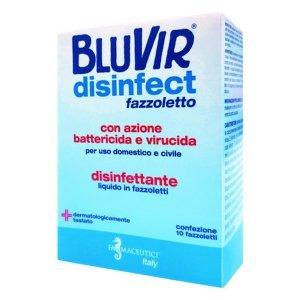 BLUVIR Disinfect obrúsky vrecúška 10 ks