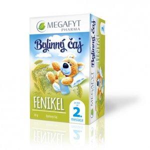 Megafyt Bylinný čaj fenykl pro děti 20 x 1 .5g