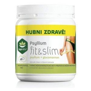 TOPNATUR Psyllium Fit&Slim 180 kapsúl