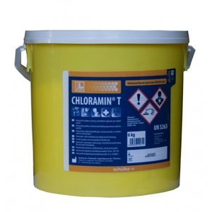 Chloramin T práškový dezinfekčný prostriedok v PE vedre 6 kg