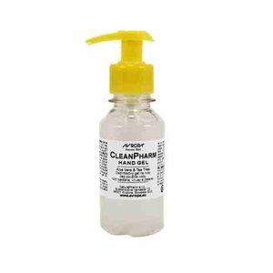 CleanPharm dezinfekčný gél s aloe vera a Tea tree  na ruky s dávkovačom 100ml