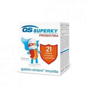 GS Laktobacily Forte 21 80 kapsúl