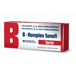 B-komplex forte Zentiva 20 drg