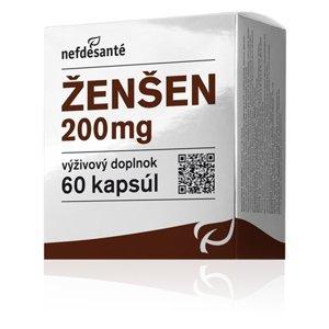 Nefdesante ženšen 60 kapsúl 200 mg