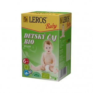 Leros Baby Bio bylinný pre deti 20 x 2 g