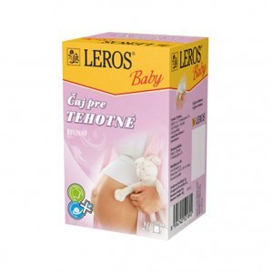 LEROS BABY Čaj pre tehotné porciovaný 20x2g
