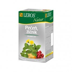 LEROS NATUR Pečeň, žlčník porcovaný čaj 20x1,5g