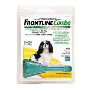 Merial Frontline Combo Spot on Dog S 2-10 kg 1x0.67 ml