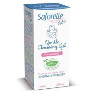 Saforelle jemný čistiaci gél 250 ml