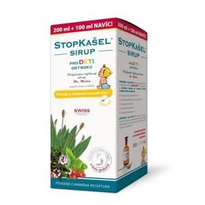 Simply You Dr.Weiss Stopkašel Sirup pre deti 300 ml