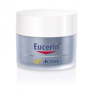Eucerin Q10 Active regeneračný nočný krém proti vráskam pre všetky typy citlivej pleti 50 ml