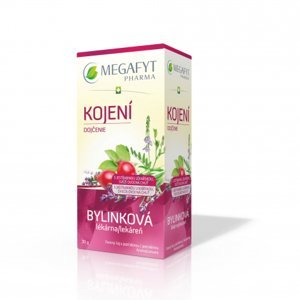 MEGAFYT Bylynková lekáreň Dojčenie porciovaný čaj 20 x 1,5 g