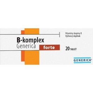 Generica B-komplex Forte plus 20 šumivých tabliet