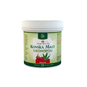 Herbamedicus konská masť s konopou hrejivá 250 ml
