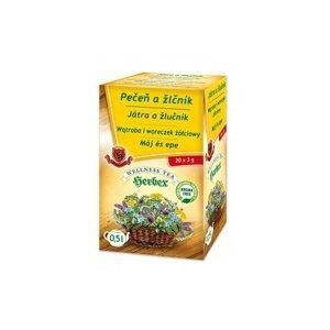 Herbex PEČEŇ A ŽLČNÍK bylinný čaj 20 x 3 g